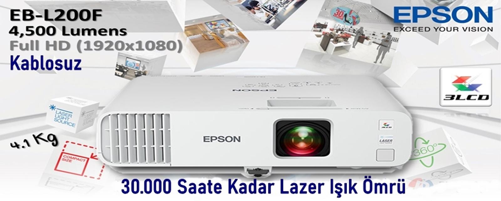 Epson EB-L200F Projeksiyon