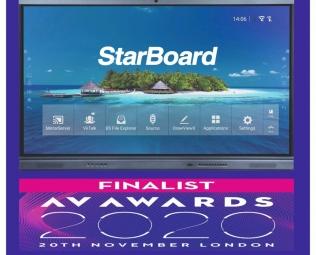 StarBoard İnteraktif Ekranlar ile Sınıflar Daha Elverişli - Starboard Akıllı Tahta