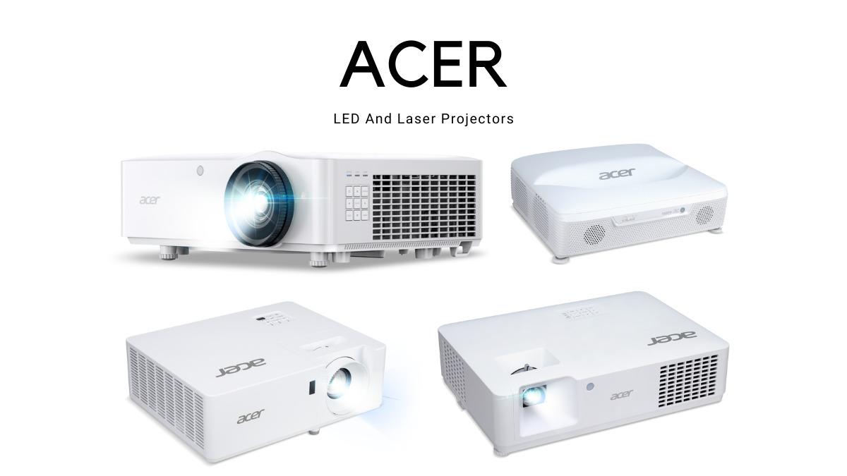 Acer'dan Yeni Led Lazer Projeksiyonlar