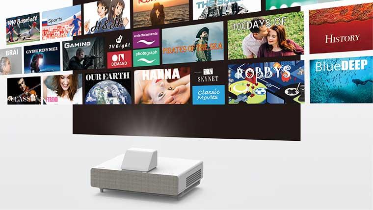 EH-LS500 TV Edition Sürümü Yakında Satışta. (Epson Android TV)