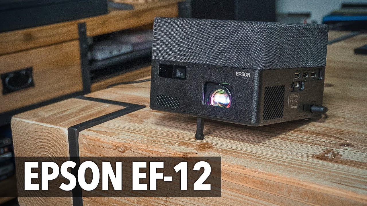 Epson EpiqVision Mini EF-12 Projektör - İNCELEME