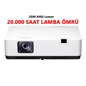 CANON LV-X350 3500 ANSILUMEN - 20 BİN SAAT LAMBA ÖMÜRLÜ PROJEKSİYON