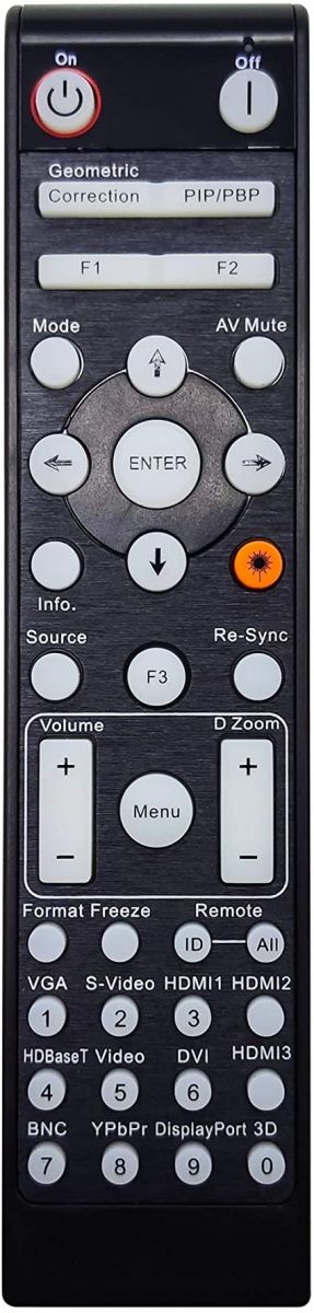 Optoma GT1090HDR remote1