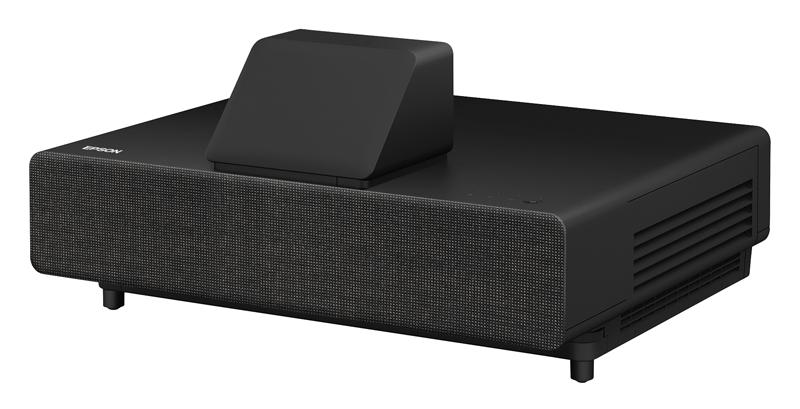 Epson LS500 Projektör Siyah Sol açı siyah
