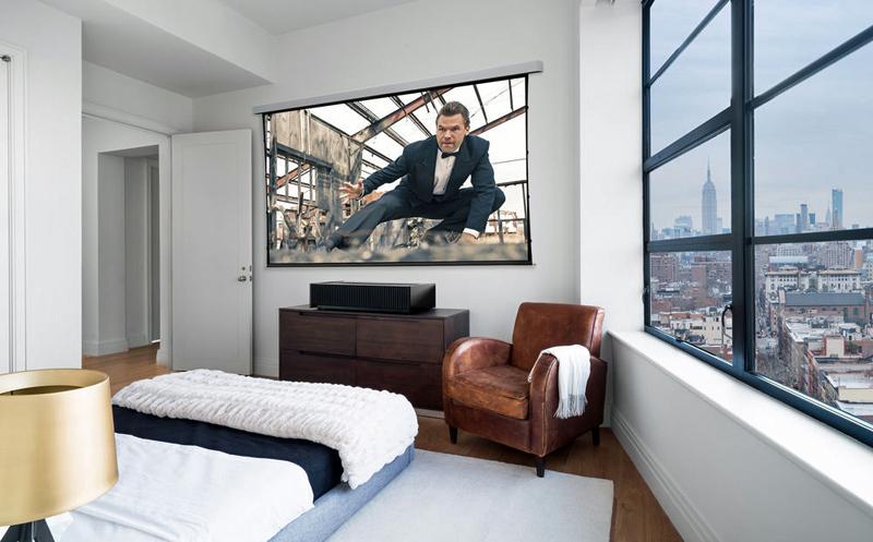 Sony VPL vz1000es yaşam tarzı yatak odası